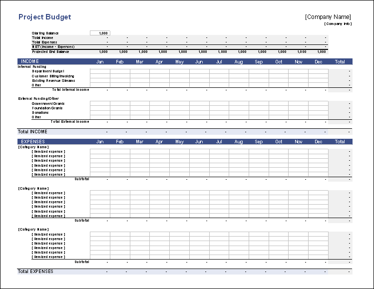 Budget Sheet Template Excel 9 excel budget worksheet template – Budget Worksheet Template