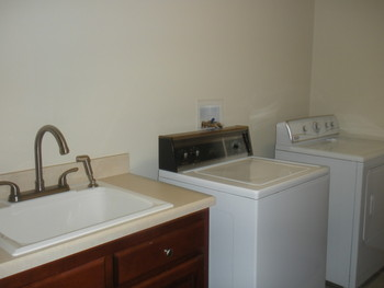Laundry room, one side
