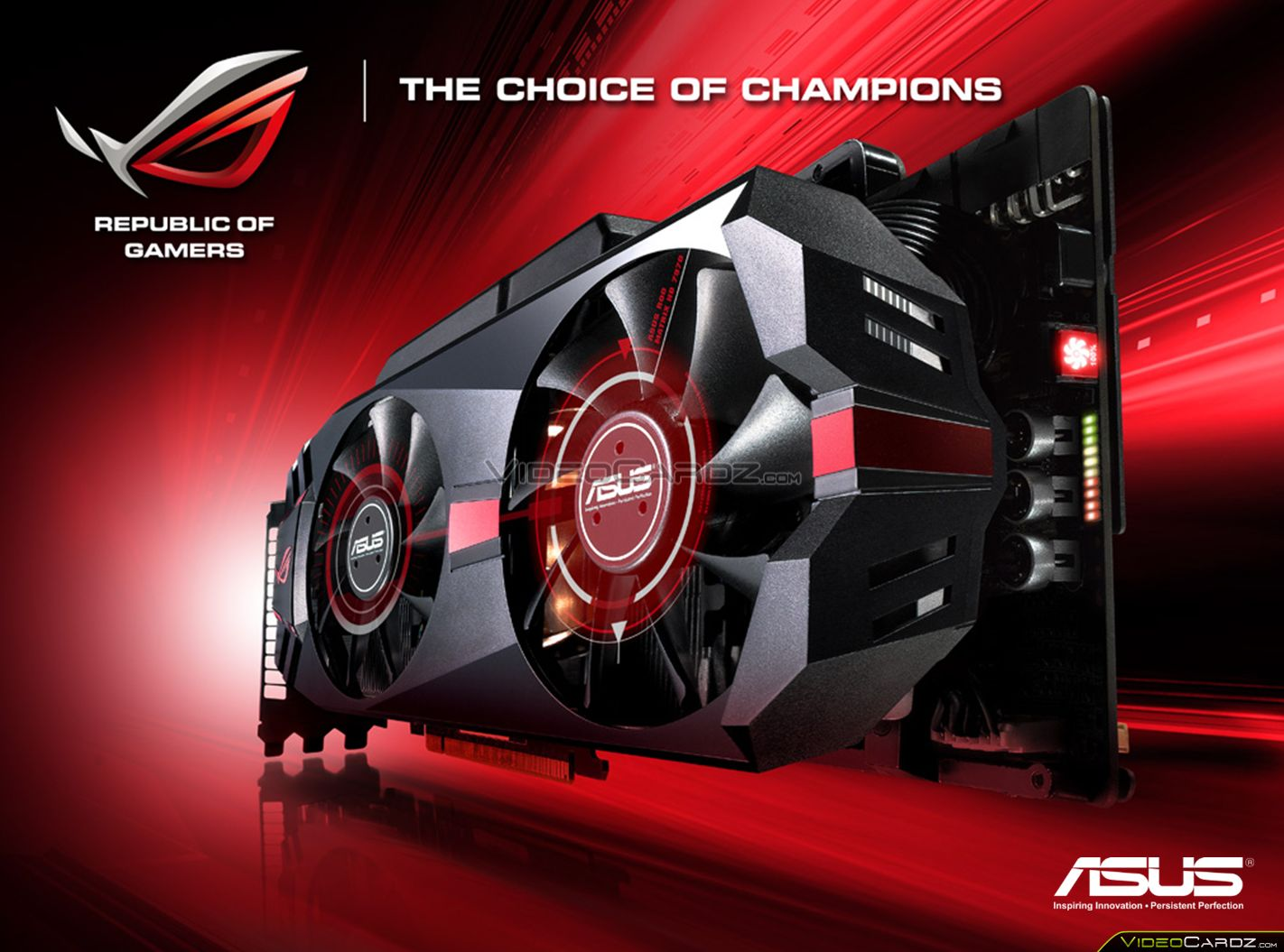 ASUS ROG MATRIX R9 290X Platinum Graphics Card Pictured Black Heatsink And Powerful 14 Phase VRM