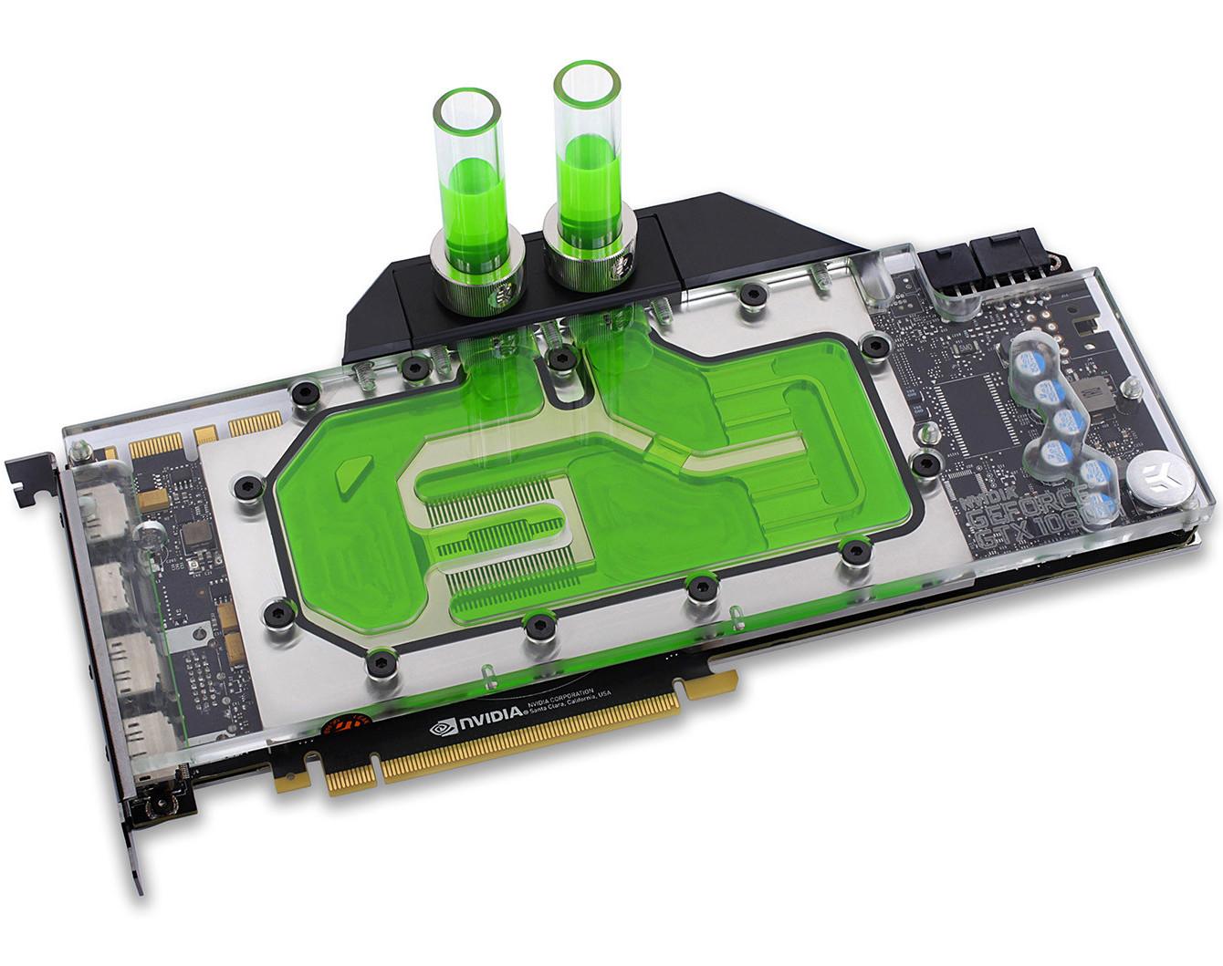 Ekwb Releases Full Cover Blocks For Geforce Gtx 1080 Ti