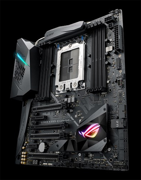 ASUS ROG STRIX X399E ASUS brings out a new X399 based motherboard for all the AMD Ryzen Threadripper lovers out there