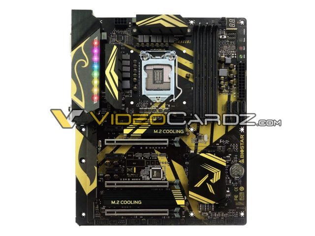 Biostar Z370 GT7 front 1000x750 Biostar RACING Z370 GT7 motherboard   Is it different from the Kabylake Z270 series boards?