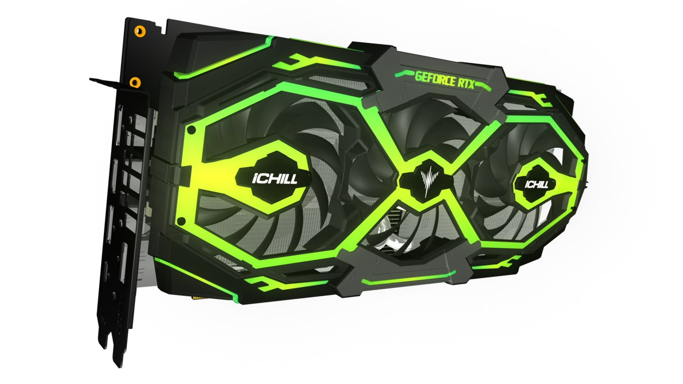 Inno3D Turns GeForce RTX Card Into Giant RGB Christmas