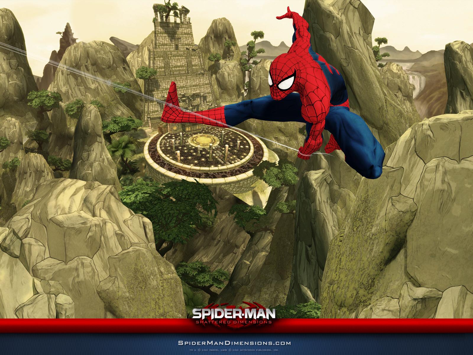 Spider Man Shattered Dimensions Wallpaper