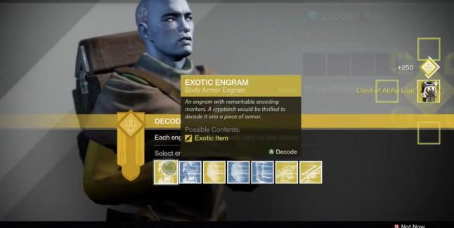 Destiny The Taken King Exotic Engram Farming Guide