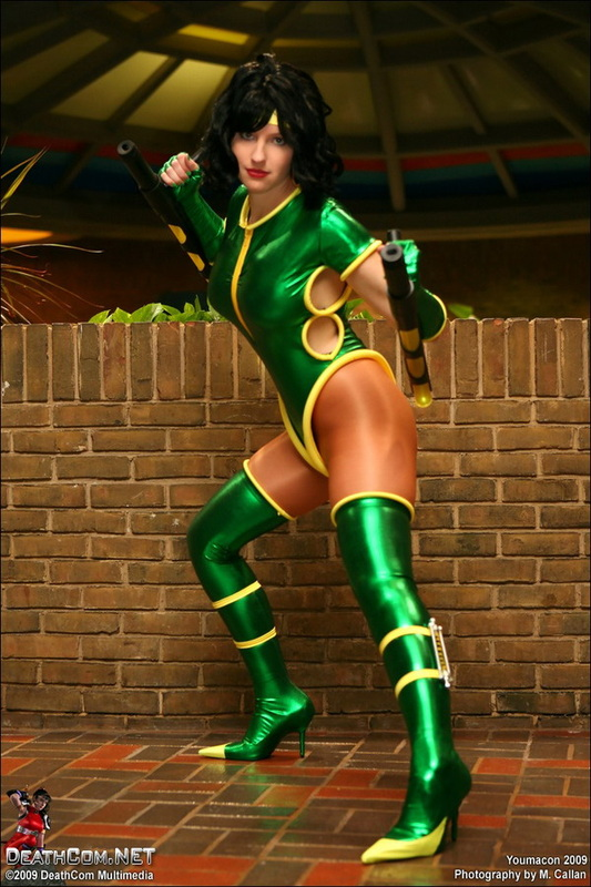Orchid Cosplay Killer Instinct Fighting Game Stance