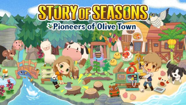 Story of Seasons Pioneers of Olive Town Key Visual