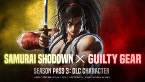 Samurai Shodown x Guilty Gear S3 DLC Character Teaser