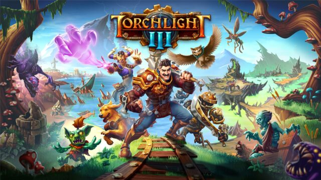 Torchlight 3 Key Art