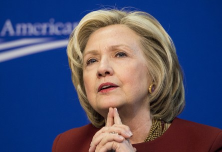 A majority of millennials want Democrats to hold the White House in 2016, and Clinton leads the field. (File Photo By Bill Clark/CQ Roll Call)