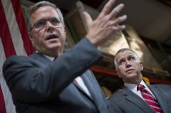 Bush campaigned for Tillis in September. (Tom Williams/CQ Roll Call File Photo)