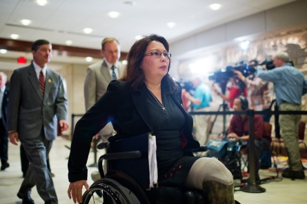 Duckworth is running for Senate, opening the 8th District. (Tom Williams/CQ Roll Call File Photo)