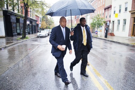 Cummings has been a constant media presence as turmoil in Baltimore continues (Tom Williams/CQ Roll Call File Photo)