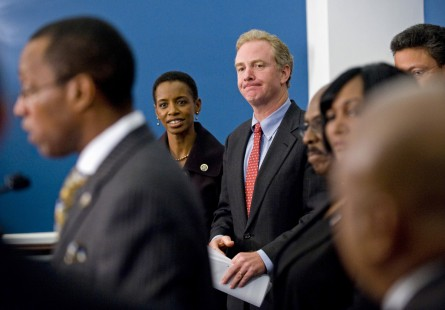 Edwards and Van Hollen are running for Senate in 2016. (Scott J. Ferrell/Congressional Quarterly File Photo)