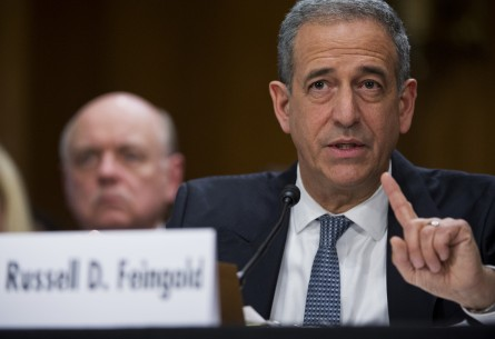 Feingold made trade a pillar of his attacks on Johnson in 2010. (Tom Williams/CQ Roll Call File Photo)