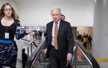 Trump met with Sessions and adopted many of this immigration proposals. (Bill Clark/CQ Roll Call File Photo)