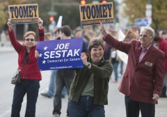 A 2010 Pennsylvania Senate debate. (Bill Clark/CQ Roll Call File Photo)