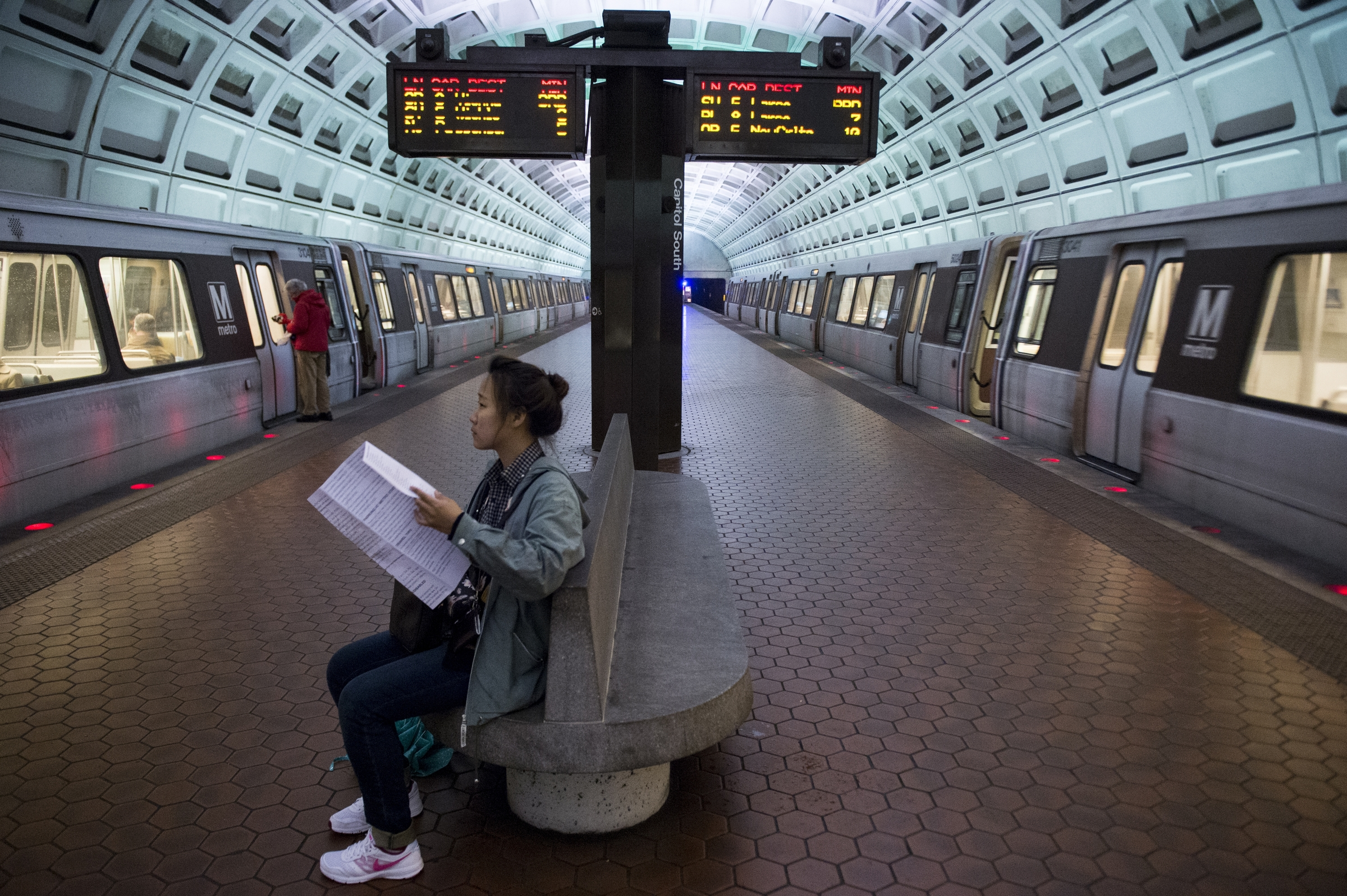 The plan to upgrade the Washington transit system calls for consolidating three years worth of work into one. (Bill Clark/CQ Roll Call)