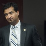 WASHINGTON, DC - MAY 13: Rep. Carlos Curbelo, R-Fla., leaves the House Republican Conference meeting in the Capitol on Wednesday, May 13, 2015. (Photo By Bill Clark/CQ Roll Call)