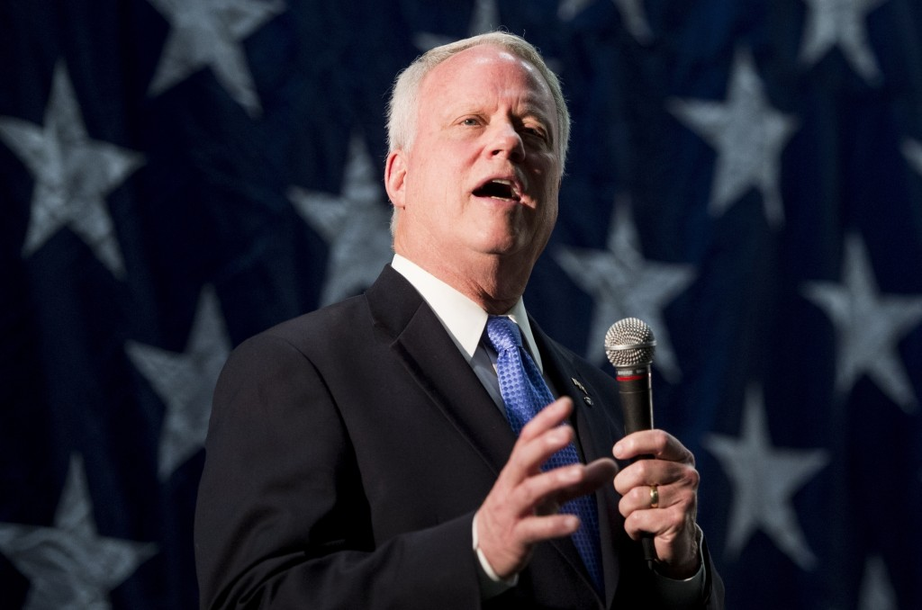 Rep. Paul Broun ran for the Republican nomination for Senate in Georgia in 2014. (Bill Clark/CQ Roll Call File Photo)