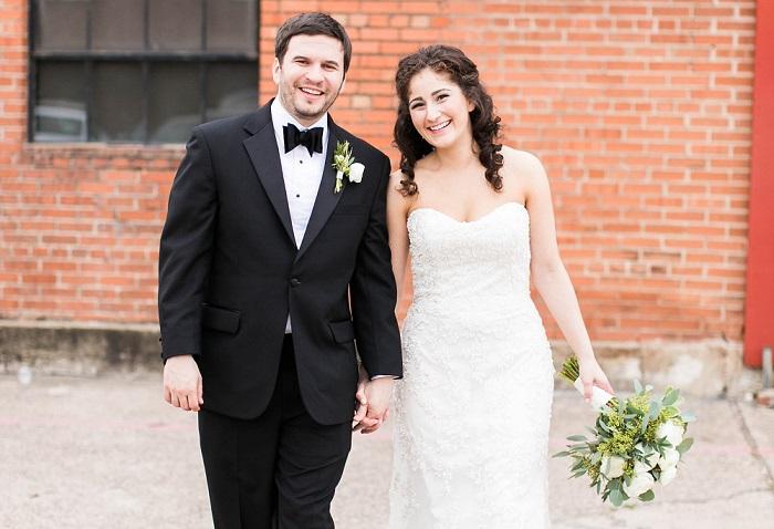 Sadie Weiner and her husband, Zach Wineburg. (Courtesy Sadie Weiner)