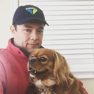 Utah Rep. Jason Chaffetz and his Cavelier King Charles spaniel Ruby (Chaffetz family photo)