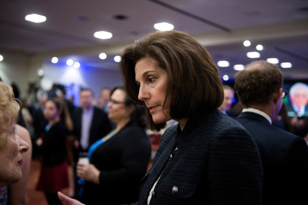 Former Nevada Attorney General Catherine Cortez Masto has also seen her unfavorability numbers rise since July, according to the Monmouth poll. (Bill Clark/CQ Roll Call file photo)