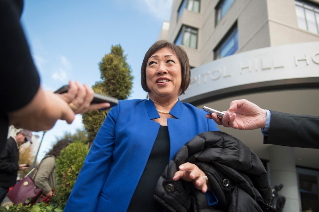 Former Rep. Colleen Hanabusa, D-Hawaii, returns to Washington Monday for new member orientation. She previously held the seat from 2011-2015. (Tom Williams/CQ Roll Call)