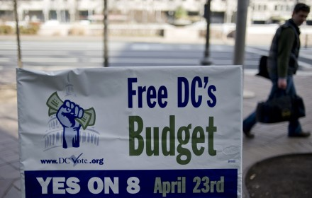 D.C.'s chief financial officer is not a fan of the budget autonomy law. (Chris Maddaloni/CQ Roll Call File Photo.)