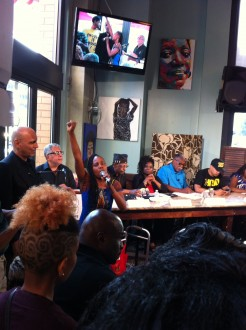 Singing 246x330 In D.C., African Americans Ask Whats Next After Ferguson?