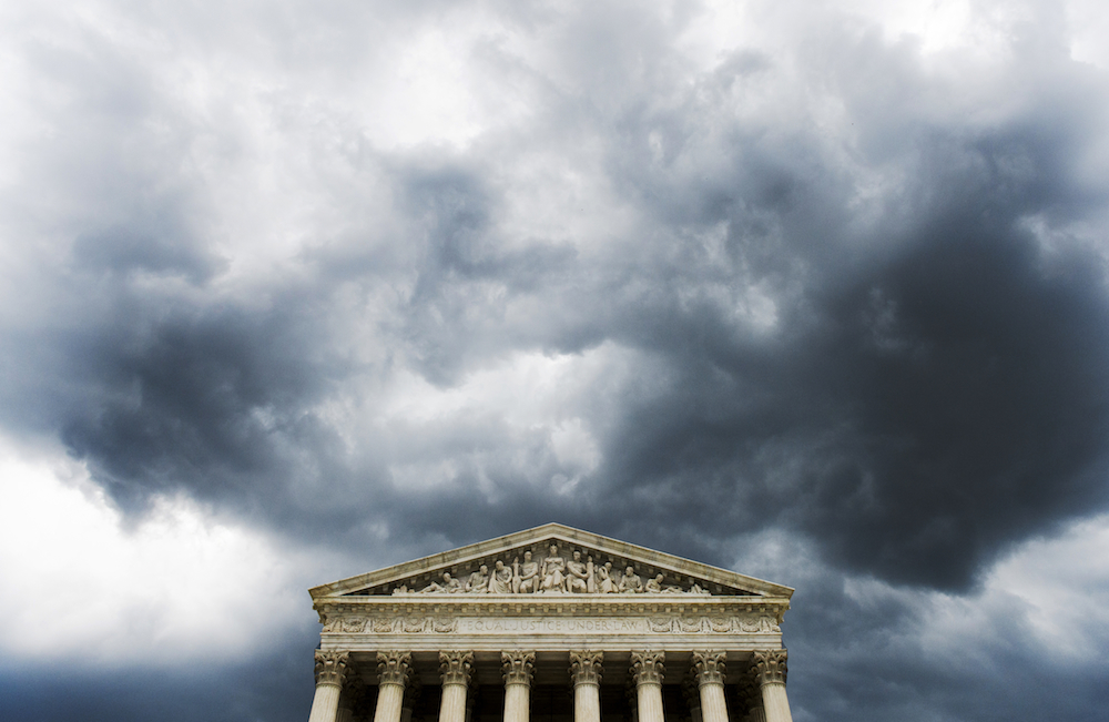 Storm Clouds Washington DC Photo