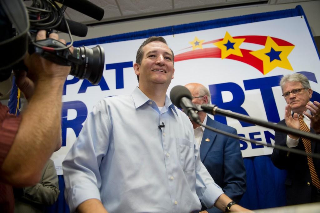 Ted Cruz, Pat Roberts Senate