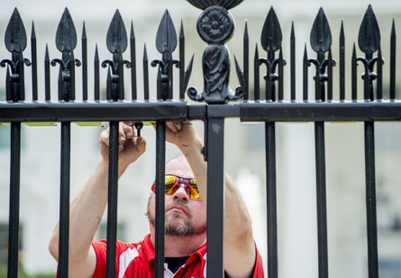 White House Fence Security