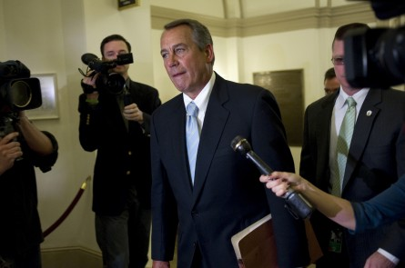 Boehner 02 030113 445x295 Interview With Speaker Boehner: The Sequester Is Here to Stay (Part II)