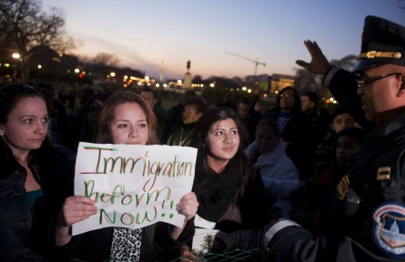tree lighting009 120313 445x288 Immigration Overhaul Backed by Growing Number of Tea Partyers (Video)
