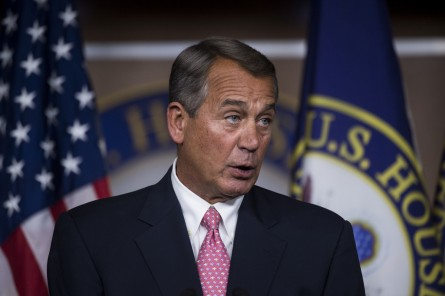 boehner 197 022714 445x296 Boehner: Too Late to Just Repeal Obamacare, GOP Should Tackle Immigration (Video) (Updated)