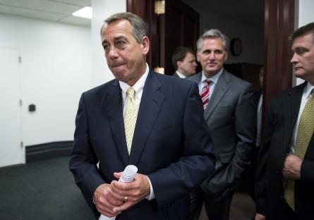 boehner 051 050714 445x312 Boehner Moving Toward Late July Obama Lawsuit Vote