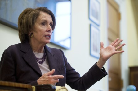 pelosi 018 120514 445x296 Defiant Pelosi Stands Firmly on Left