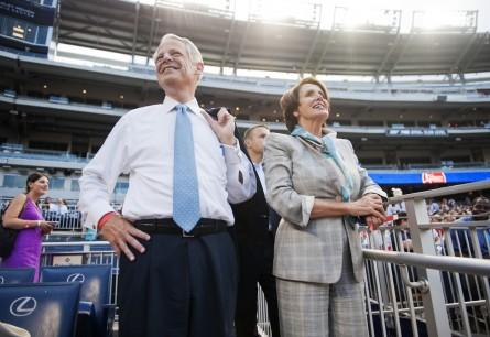Some Democrats plan to boycott Netanyahu address — but Israel, left, won't be among them. (Tom Williams/CQ Roll Call File Photo)
