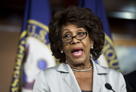 Waters, D-Calif., speaks during the House Democrats' news conference to discuss Republican lawsuit against President Obama and the House Democrats' focus on the economy on Wednesday, July 30, 2014. (Photo By Bill Clark/CQ Roll Call)
