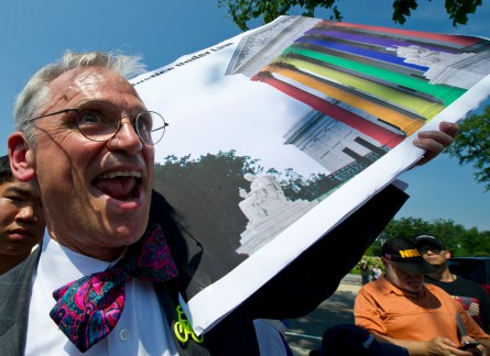 Rep. Earl Blumenauer, D-Ore., was at the Supreme Court when it announced its landmark gay marriage decision in 2013. (CQ Roll Call File Photo)