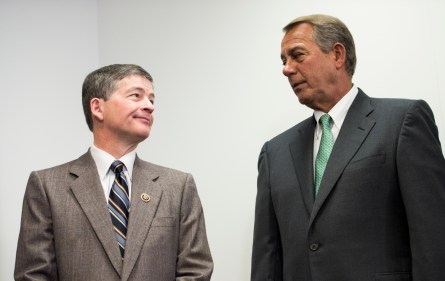 Jeb Hensarling's Texas and Boehner's Ohio are enjoying strong rankings on the Roll Call Clout Index. (Bill Clark/CQ Roll Call)