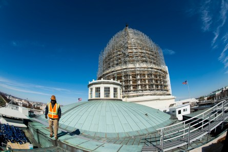 The Capitol Dome's restoration is one of the things lawmakers must fund in the legislative branch appropriations that handle congressional spending.