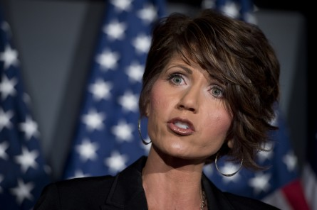 Conservatives aren't excited about a potential Noem Senate bid either. (Tom Williams/CQ Roll Call File Photo)