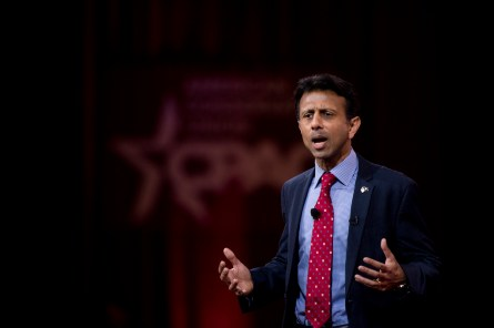Jindal speaks at CPAC in National Harbor, Md. (Bill Clark/CQ Roll Call File Photo)