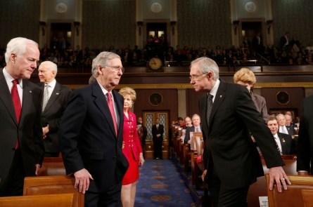 Reid and McConnell Democratic agenda