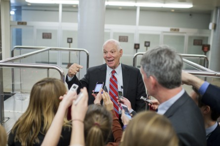 Cardin's negotiating talents will be tested as he tries to find a path for a use of force authorization against ISIS. (Tom Williams/CQ Roll Call File Photo)