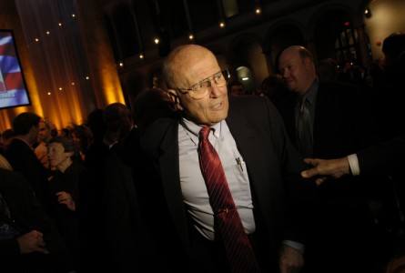 John Dingell carries himself like he knows who's in charge. (