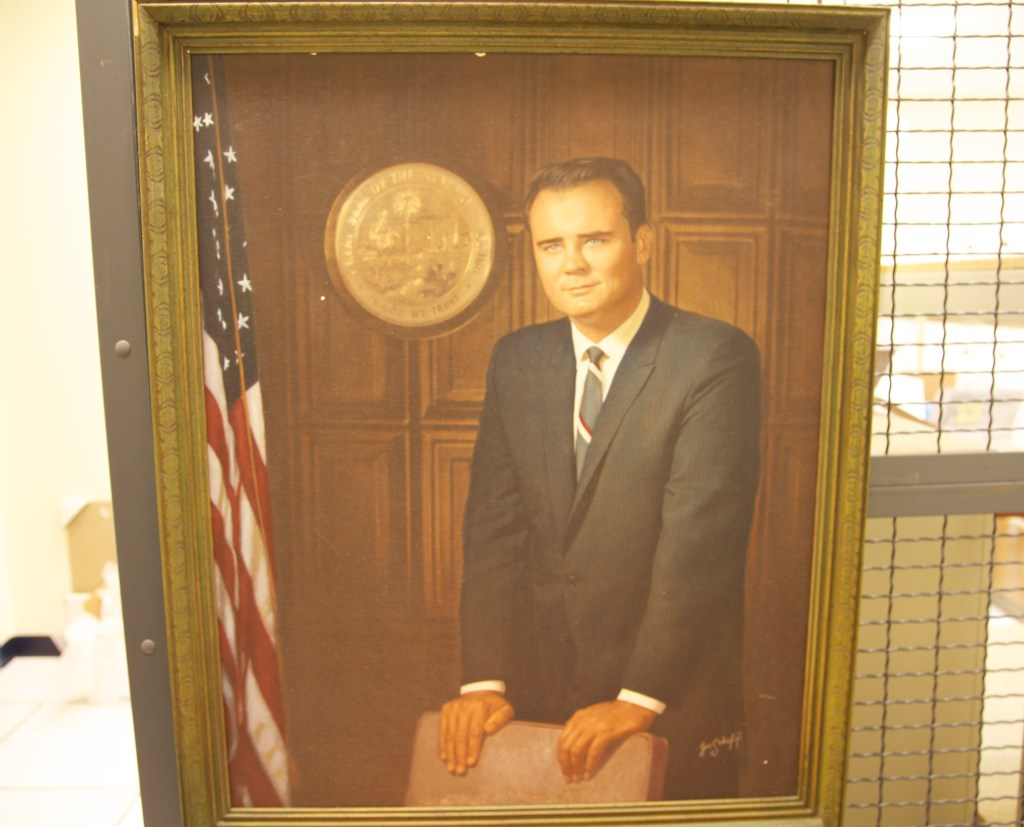 A portrait of late Rep. C.W. Bill Young, R-Fla., during his days in the Florida State Senate. (Warren Rojas/CQ Roll Call)