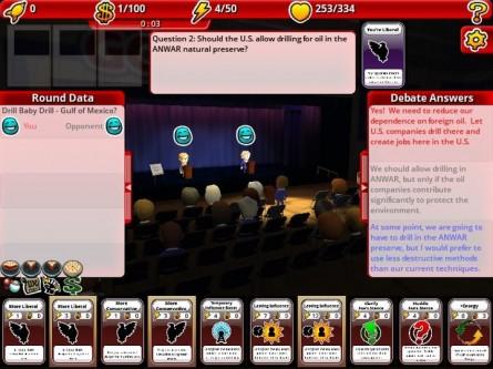 For the People debate screenshot